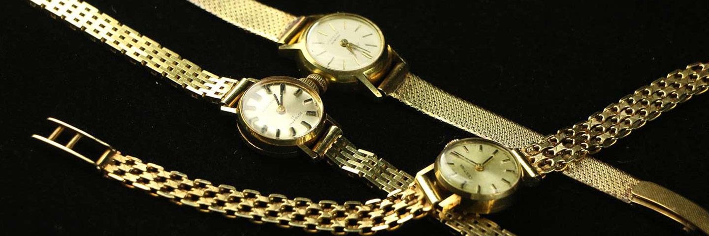 Antieke en oude gouden horloges